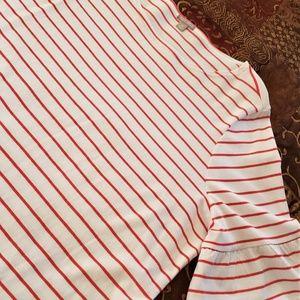 FALLS CREEK RUFFLE Sleeve Blouse Top - 3X New